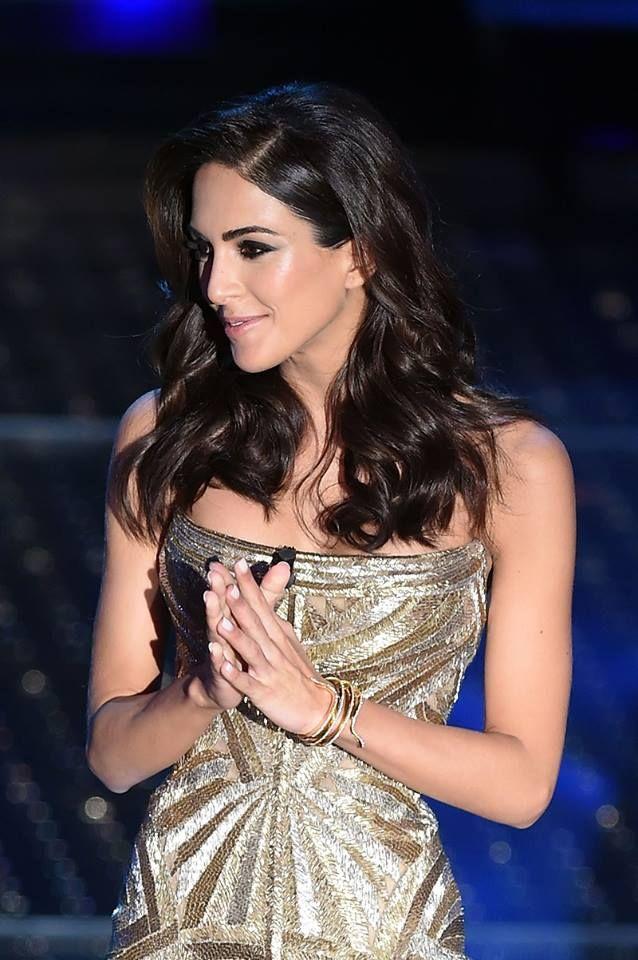 bracciale Rocio Munoz Morales al Festival di Sanremo 2015 http://molu.it/gioielli-del-festival-di-sanremo-2015