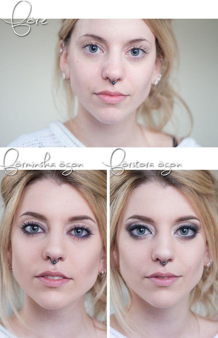 Cómo maquillar los ojos para que se vean más grandes o más chicos