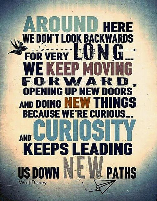 Download Around Here we don't look backwards for very long. Tap to see Inspiring Quotes about Moving On in Life. Never Give Up! motivational quotes about positive thinking. - @mobile9