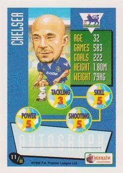 1996-97 Merlin's Premier League #11 Gianluca Vialli Back