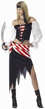 Love the red/white sash... maybe I just need to buy fabric
