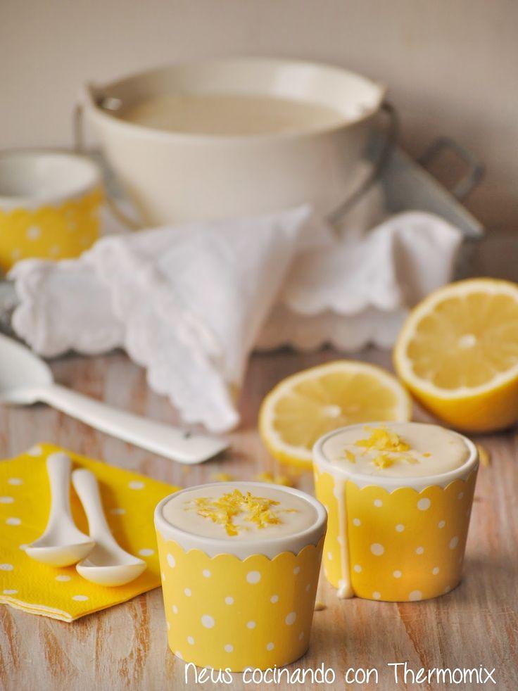 Neus cocinando con Thermomix: Cremoso de limón