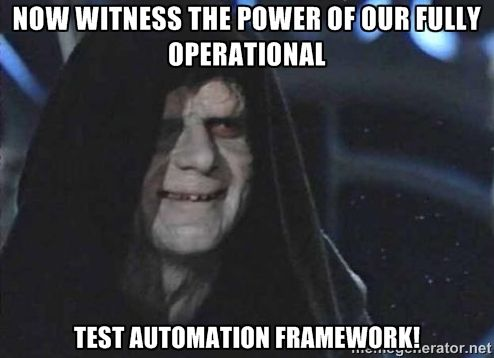test automation meme  Google Search