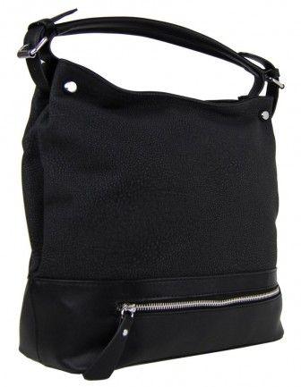 Velká kabelka na rameno TH2032 černá - Kliknutím zobrazíte detail obrázku.