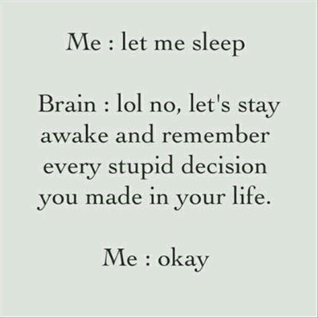 Every single night!
