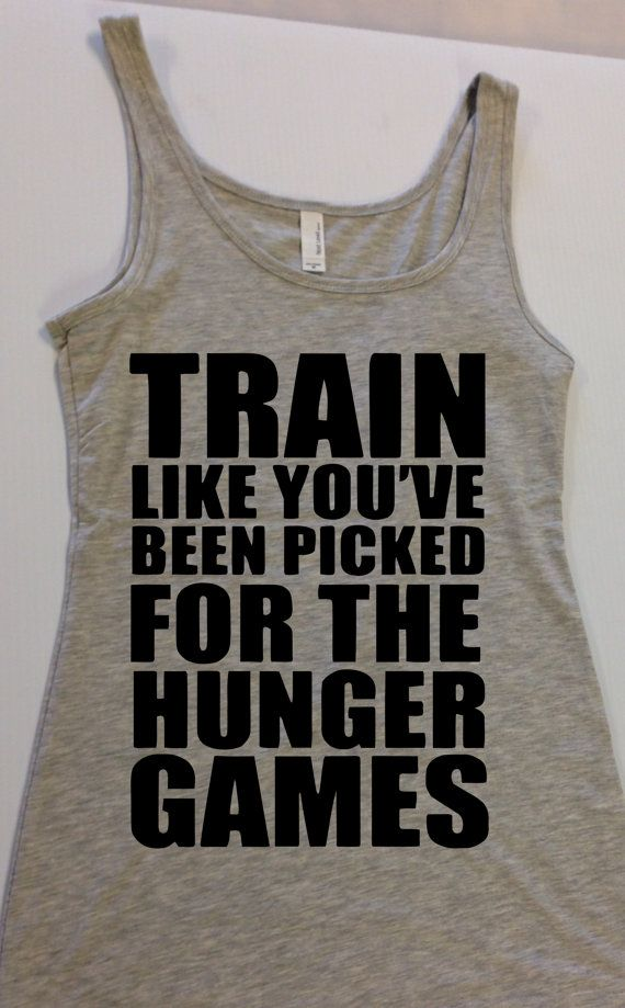Train like you've been picked for The Hunger Games
