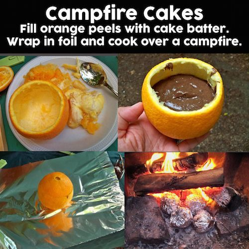 Camping cake recipes
