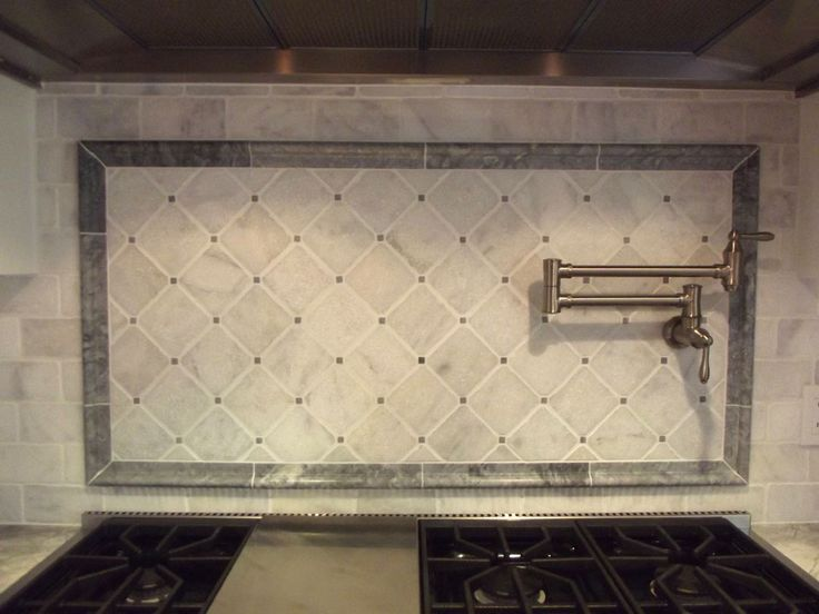 148 Best Backsplashes Images On Pinterest Kitchen Ideas: italian marble backsplash