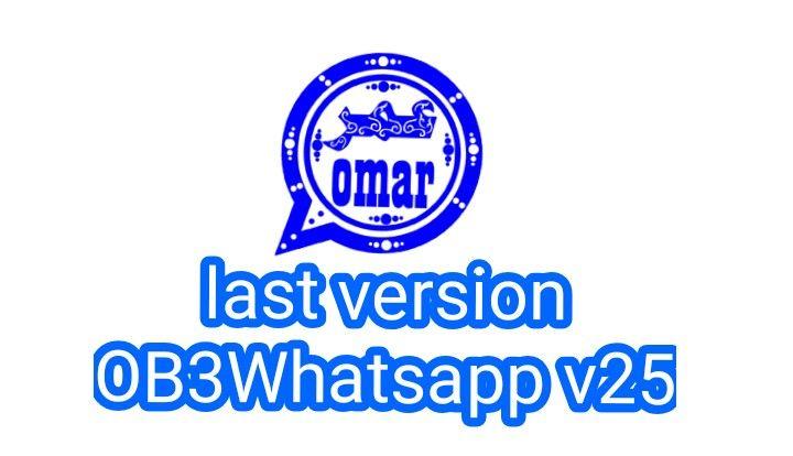 Last Download Update Of Ob3whatsapp Omar Blue 2020 Messaging App Download Free App Omar