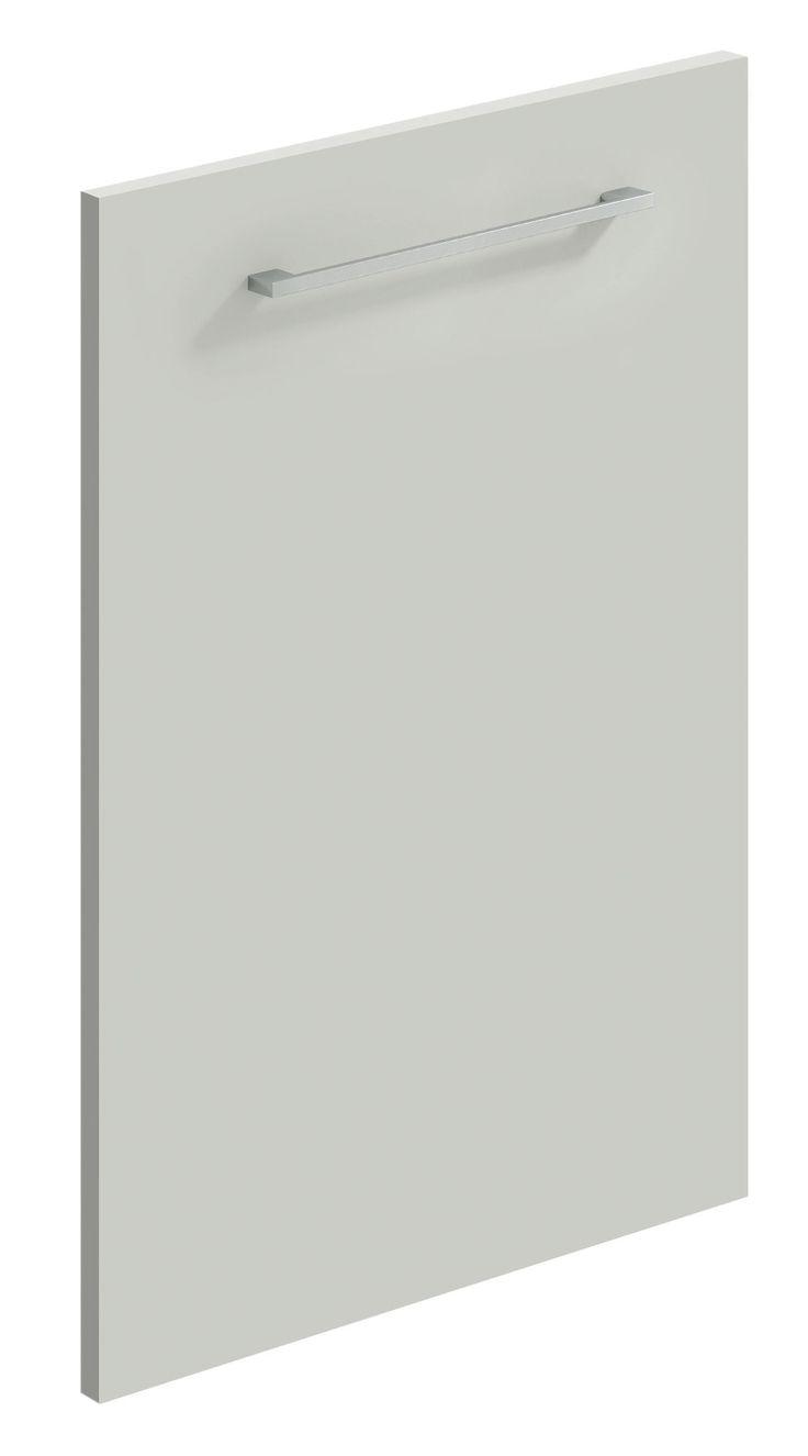 Light Grey matt replacement kitchen door