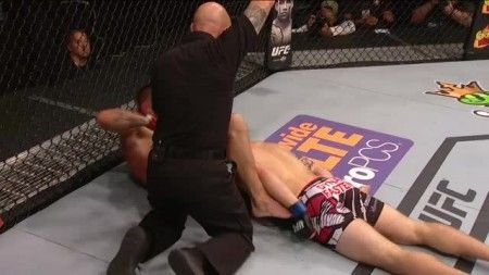 Joe Proctor submits Justin Edwards with 2 seconds left in fight