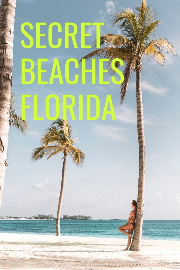 Check Out This List Of The Best Secret Florida Beaches For Your Next Vacation Think Beautiful Clearwater Wit Florida Vacation Florida Beaches Florida Travel