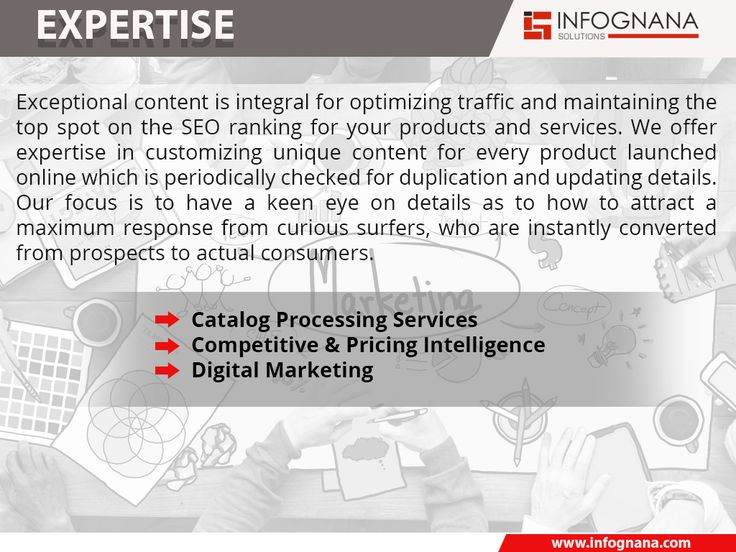 Exceptional content is integral for optimizing traffic and maintaining the top spot on the SEO ranking for your products and services.