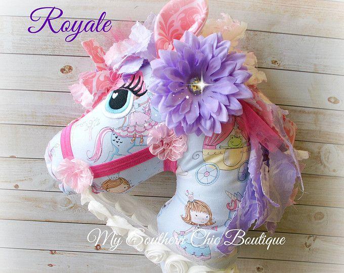 Hobby Horse - juguete caballo palo caballo-princesa Hobby Horse - chica Hobby caballo - Pony-recuerdo-regalo-vivero Decor-chica - juguete caballo - bebé