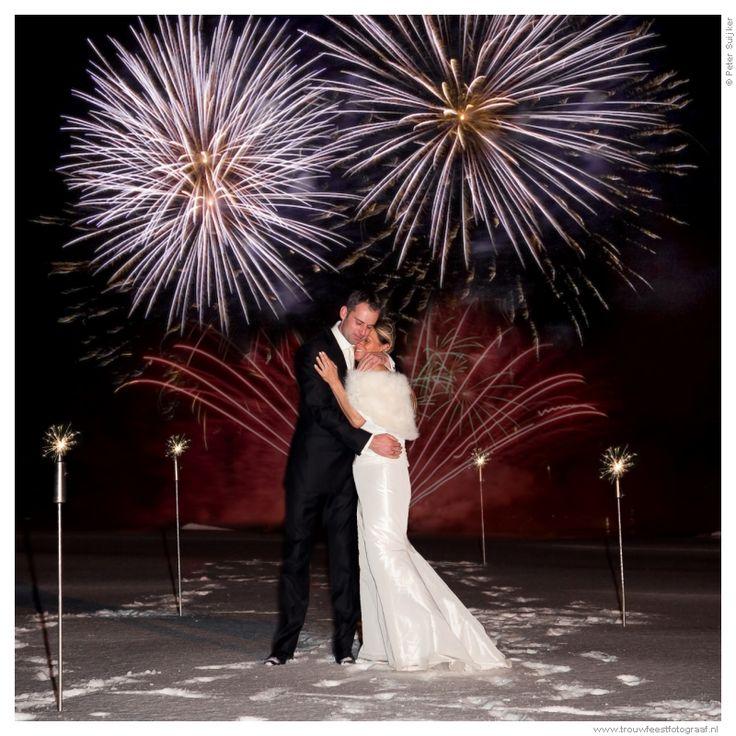 Vuurwerk tijdens je bruiloft