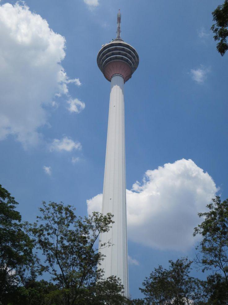 Menara KL- 360° Blick über die Stadt