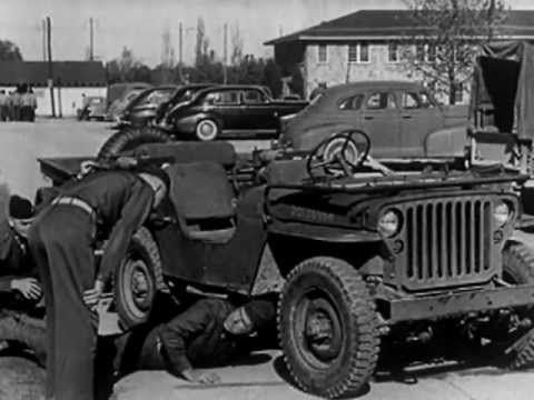 jeep history autobiography of a jeep 1943 youtube autos post. Black Bedroom Furniture Sets. Home Design Ideas