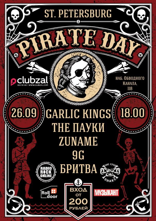 Pirate Day poster