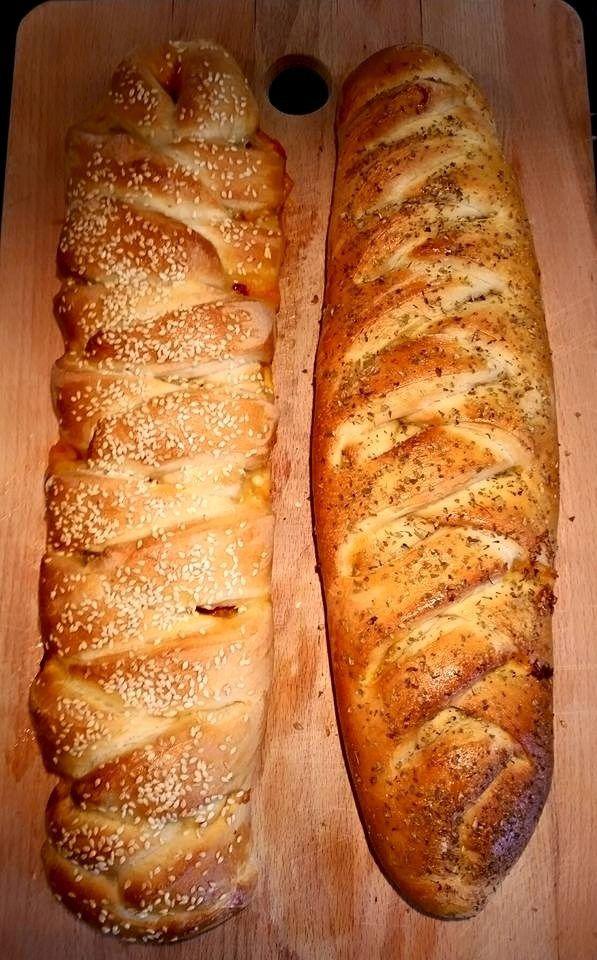Fyllda bröd- Pizzabröd