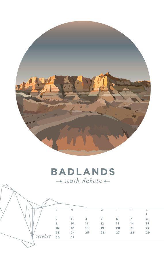 2016 America the Beautiful National Parks Mini от thirdcoastpaper