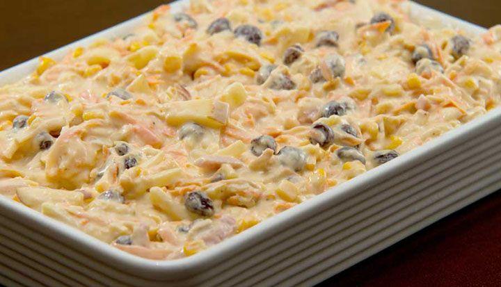 - Aprenda a preparar essa maravilhosa receita de Melhor salpicão do mundo NÃO é feito com maionese (e você vai amar essa dica!)
