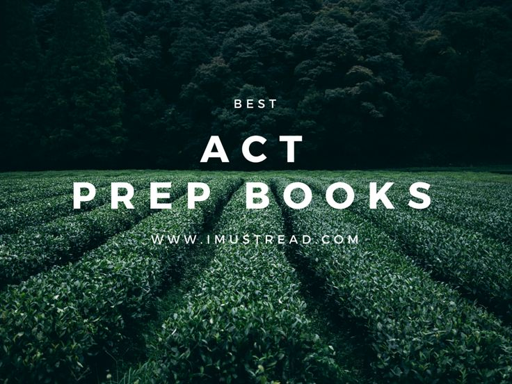 Best ACT Prep Test Books