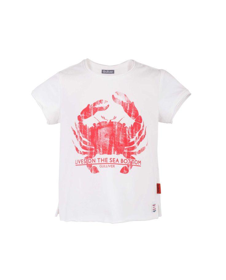 Детская футболка Gulliver – купить в интернет-магазине Gulliver с доставкой по Москве и России. Коллекция Коралловые рифы