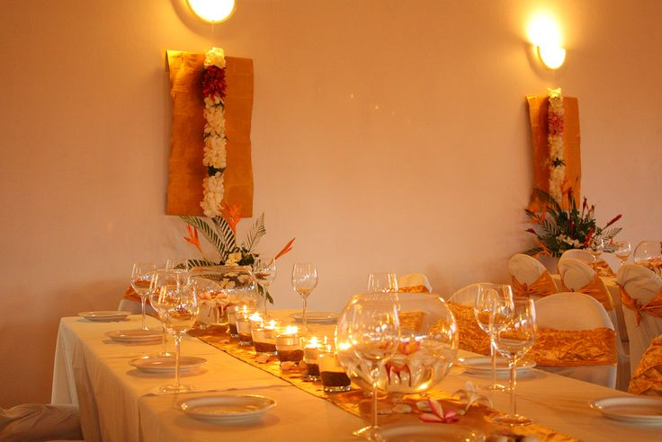 Your wedding reception could be something like this? Let us do it for you...#anchoragefijiwedding