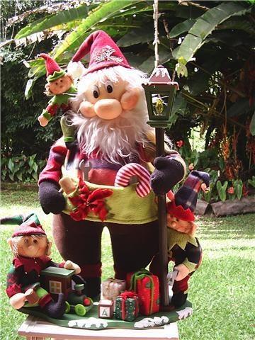 Fotos de  Lindos Muñecos de Navidad