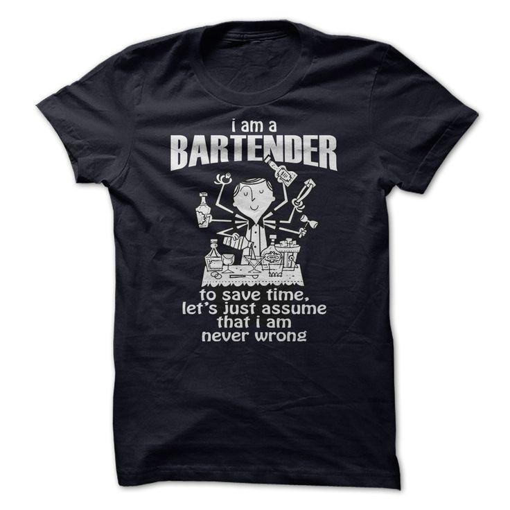 Tshirt Cool Choose Awesome Bartender Shirt Teeshirt
