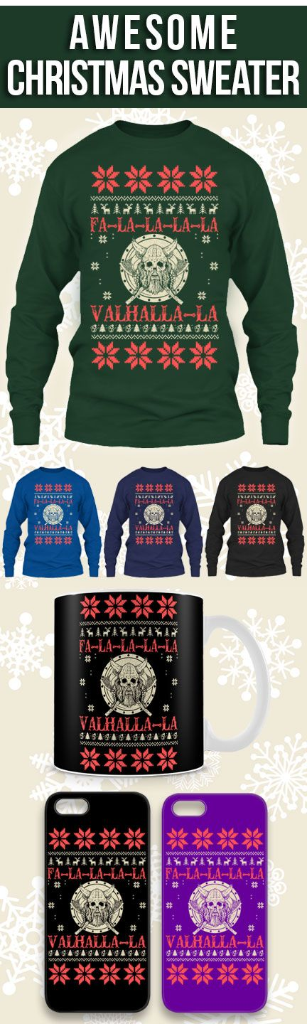 Vikings Ugly Christmas Sweater! Click The Image To Buy It Now or Tag Someone You Want To Buy This For. #valhallavikings