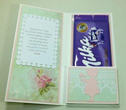 Kartka ręcznie robiona dzień nauczyciela, zakończenie roku szkolnego, podziękowanieDSCF3911