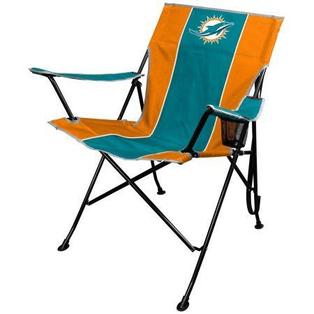 NFL Miami Dolphins Tailgate Chair by Rawlings, Silver