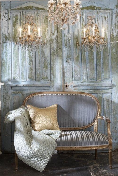 Oltre 25 fantastiche idee su divano shabby chic su for Rustico paese francese