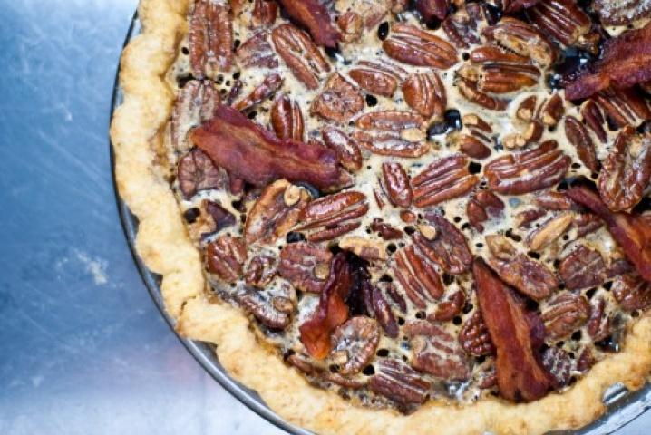 Bacon Bourbon Pecan Pie   cooking   Pinterest   Bourbon Pecan Pie ...