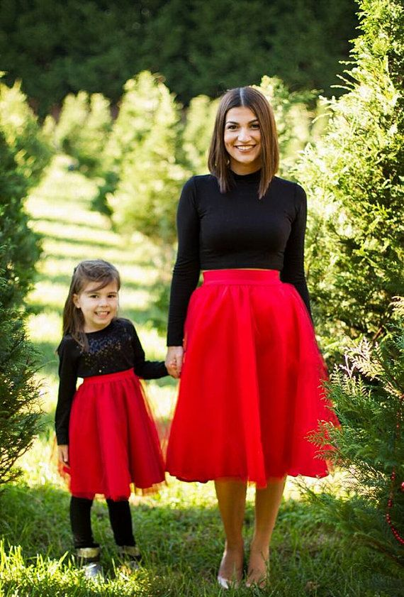 Tulle Skirts Mommy and Me Set Matching tulle skirts by EllaEman