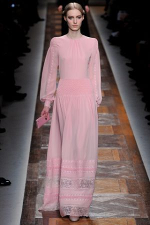 Valentino Fall 2012 RTW collection  | More here: http://mylusciouslife.com/prettiness-luscious-pastel-colours/