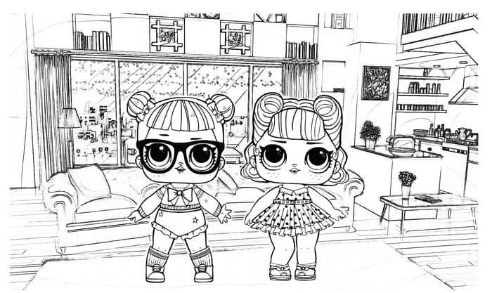 Printable Lol Dolls Coloring Pages Lol Dolls Coloring Pages