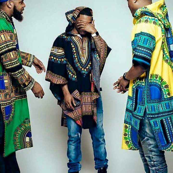 Hooded dashikis