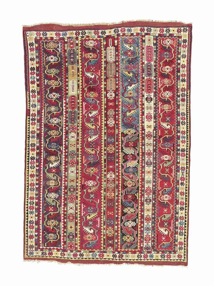 MELAS RUG  WEST ANATOLIA, EARLY 19TH CENTURY    5ft.9in. x 4ft.1in. (175cm. x 124cm.)