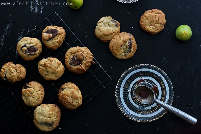 Choc chip cookies  with Village floor