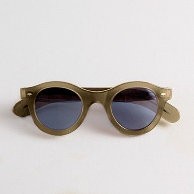 Cutler & Gross Round Sunglasses #Sunglasses #Cutler_&_Gross