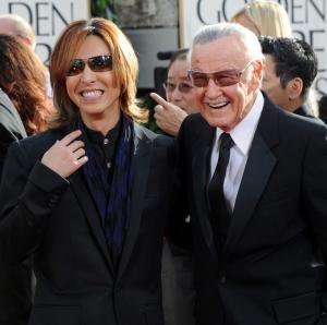 Yoshiki Hayashi And Stan Lee Arrive At The 68th An - Photo 76   ThirdAge