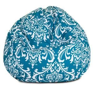Majestic Home Goods French Quarter Bean Bag Small Ocean