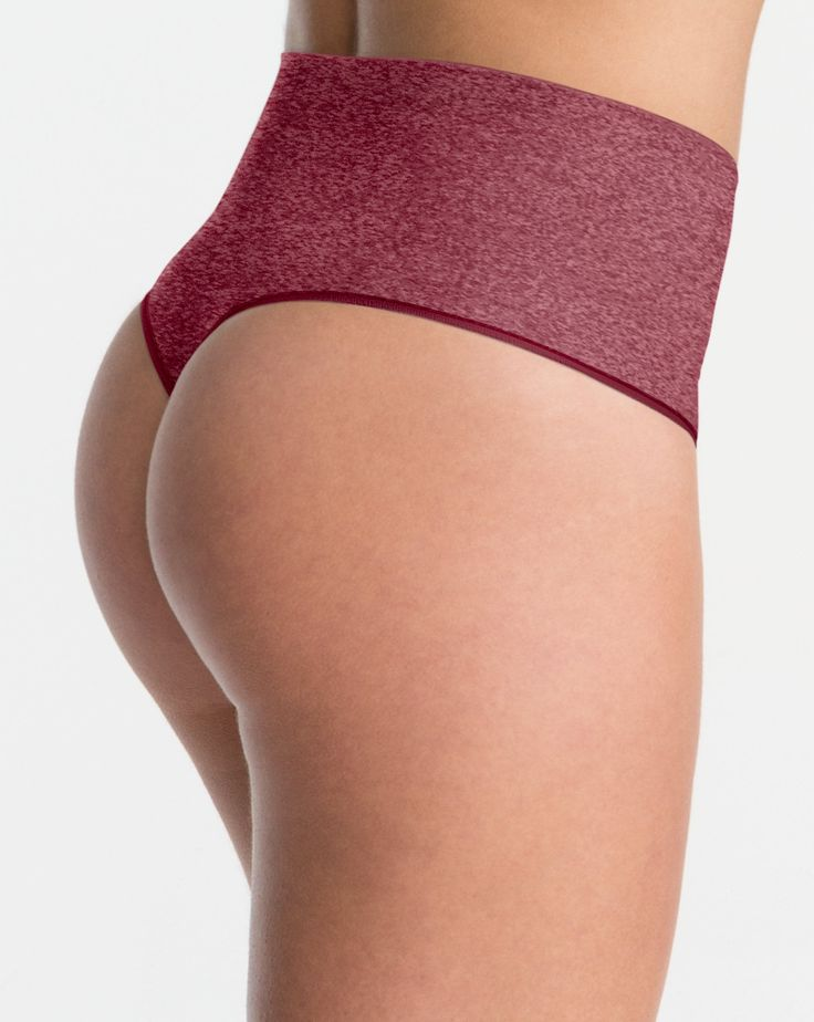 The Spanx DifferenceWe read your mind...comfy shaping for your tummy and behind! We made this Thong for when you've got a great outfit and need a little bit of support, but don't want to wear a shaper. Everyday Shaping Panties provide just enough smoothing to keep you confident and in control all day.Slimming LevelSHAPEHow to Wear ItPerfect under mid-rise pants and jeans for a hug of support and no more panty lines!