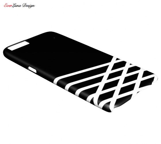 Black and White IPhone 7 6 and 5 Samsung S7 S6 S5 by EverLunaStore