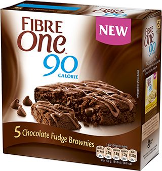Fibre One UK Chocolate Fudge Brownie 4 Syns