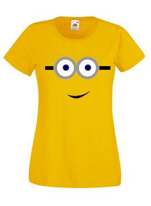 £9.99 #Despicable Me #Minion #Ladies #T-Shirt - Worldwide Delivery