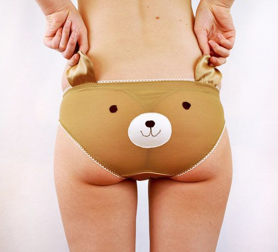 Cute Panties with a Animal face and ears