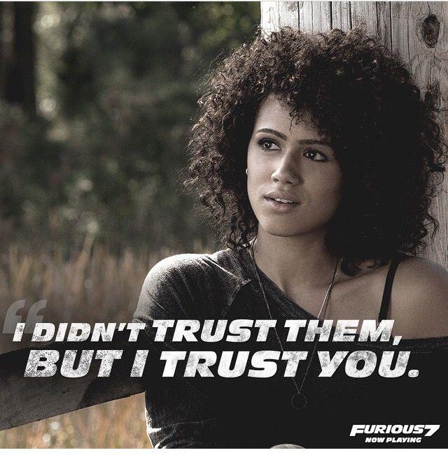 Ramsey- Furious 7